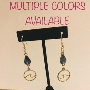 🎉FLASH SALE🎉 Jewel & Sea Earrings